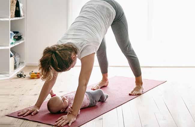 quali esercizi per perdere peso dopo la gravidanza